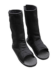 Naruto Boruto Hinata Hyuga   Black Terylene Cosplay Shoes