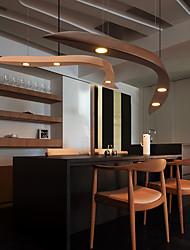 New Modern Contemporary  Decorative Design Wooden Ceiling Light Modern Minimalist Industrial Style Chandelier