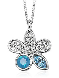 Women's Pendant Necklaces Pendants Crystal Crystal Fashion White Blue Jewelry Daily Casual 1pc