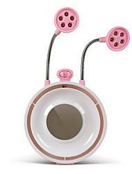 créatif papillon rose dans le ventilateur ventilateur papillon génération multifonction usb bureau lampe de lumière muet