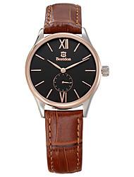 Bestdon Fashion Vintage Leather Water Resistant Simple Design Lady Wristwatch
