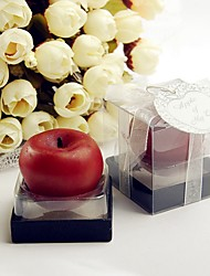 1Piece/Set, Recipient Gifts - mini Apple Candle Favor DIY Tea Party Favors