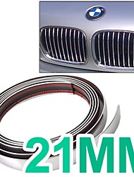 voiture chrome style décoration moulure bande 21mm