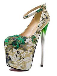 Bombas sapatos femininos 19 centímetros de altura do calcanhar sexy rodada toe salto stiletto sapatos de festa mais cores disponíveis