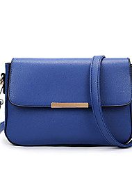 Women PU Formal / Casual / Office & Career / Shopping Shoulder Bag White / Purple / Blue / Red / Black