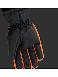 Male Outdoor Riding Motorcycle Warm Waterproof Gloves Winter Wool Thicker Fur Ski Gloves