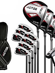 Outdoor Men  Wearproof Golf clubs Golf Sets Beginner Set Of 12 Complete Golf Club Set with Bag