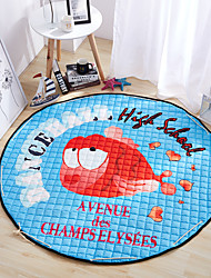 "2016 New Toys Storage Bag Carpet Kids Game Mats diameter 59"" baby Crawling multifunctional round blanket Play Rug"