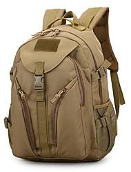 10 L sac à dos / Sac à Dos de Randonnée Camping & Randonnée Extérieur Etanche Kaki Nylon