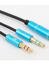 YONG WEI® Audio jack 3,5 mm-Audio jack 3,5 mm 0.3m (1ft)
