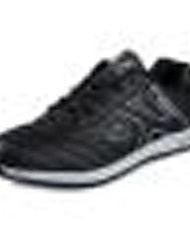 Men's Shoes Microfibre Outdoor / Athletic / Casual Sneakers Outdoor / Athletic / Casual Golf Flat Heel Lace-up Black