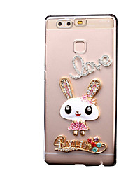 Rabbit Pattern PC Hard Case for Multiple Huawei Ascend P9/P9Lite/Honor 4X/5X/Honor6/7/P8/P8Lite/Y560/G8/G8Mini