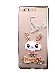 Rabbit Pattern PC Hard Case for Multiple Huawei Ascend P9 Lite Honor 4X 5X Honor 6 7 P8 Lite Y560 G8 Mini Mate 9