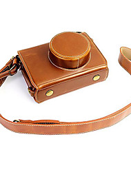 Fujifilm Camera X100s/X100t Leather Protective Half Case/Bag