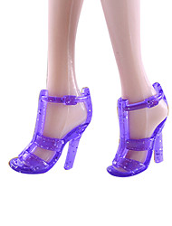 11-Inch Doll Shoes And High-Heeled Shoes Jewelry Accessories Fashion Fantasy Children'S Play Dress Up Toy 4.8 Package