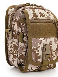 20 L Sac à bandoulière Camping & Randonnée Extérieur Multifonctionnel Marron / Camouflage Toile Other