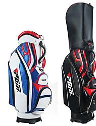 PGM Golf Gag For Men Waterproof PU Bag Black/White