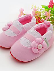 Mädchen-Flache Schuhe-Outddor / Lässig-StoffLauflern / Kinderbett Schuhe-Rosa