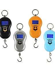 rétro-éclairage 50kg visage souriant gourde ménage balance électronique portable (anneau 50 kg rétroéclairage anglais portable)