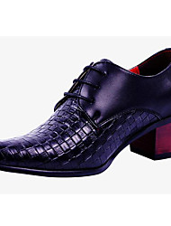 Men's Shoes Wedding / Office & Career / Party & Evening / Casual Customized Materials Oxfords Black / White
