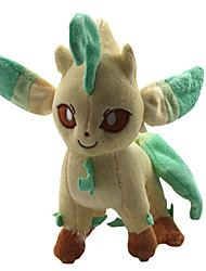 Pocket Little Monster Model Leafeon Soft Plush Stuffed Doll Toy