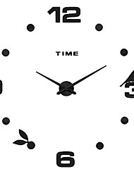 MQ - 020Large Size Creative Diy Wall Clock Art Background Wall Clock Modern Personality Quiet bell