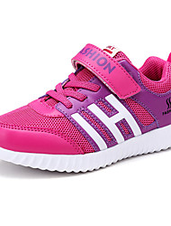 Girls' Shoes Athletic / Casual PU / Tulle Sneakers / Flats Spring / Fall Comfort / Round Toe / Flats Magic Tape