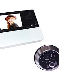 2.8 Inch High-Definition Video Doorphone Night Vision Electronic Doorbell