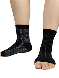 Ankle Brace Sports Support Easy dressing / Stretchy / Protective Fitness / Basketball / Football / Running Black