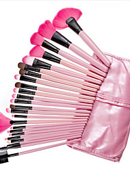 24Set Pink Contour Brush / Makeup Brushes Set / Blush Brush / Eyeshadow Brush