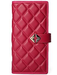 Stiya Fashion Business Top Grade Sheepskin Multifunction Large Capacity Lady Wallet Wristlet