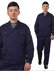 Acid and alkali acid alkali proof overalls uniforms work protective clothing TZ007