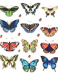 Fantaisie Stickers muraux Stickers avion Stickers muraux décoratifs / Stickers d'interrupteurs / Stickers toilettes,PVC Matériel Amovible