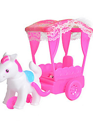 Great Gift Set Dolls Dress Up Doll Accessories Play House Toys Contain Small Baby Carriage