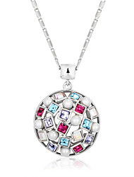Fashion  Multicolor CZ Bohemia Hollow Necklaces & Pendants For Women