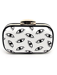 Women New Fashion Eye Design Evening Clutches