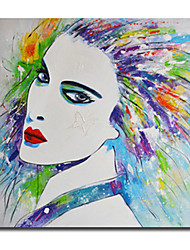 High Skills Artist Hand-painted People Oil Painting On Cavas With Frame Handmade Abstract Painting For Office Decoration