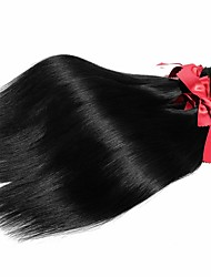 "EVET 1 Piece Lot 8""-28"" Virgin Straight Hair Weave Malaysian Virgin Hair Straight Bundles 50g/piece Malaysia Human Hair"