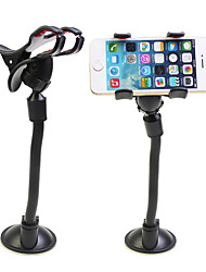 Necked Double Sucker Strong Suction Phone Holder Lazy Clip Bracket 360 ° Rotatable