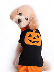 Cat / Dog Costume Black Winter / Spring/Fall Halloween, Dog Clothes / Dog Clothing