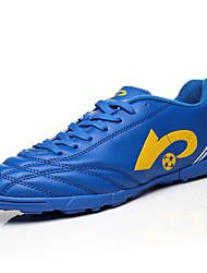 Men's / Women's Shoes Synthetic Athletic Shoes Soccer Split Joint Training Black / Royal Blue