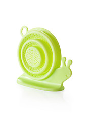 (Random color)1pcs New snail shape hair Catcher  Stopper Strainer  Cover Kitchen Sink Strainer Filter Drain Strainer