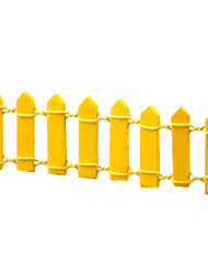 The Minature Fence Resin Potted Small Place Home Desktop Lovely Decorations(Random Color)