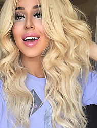 Glueless Synthetic Lace Front Wig Blonde Wig Long Curly Wig Cheap Wig Top Quality