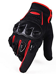 Motorcycle Motorcycle Full Finger Articulation Hard Shell Protective Sunscreen Windproof Gloves Long Finger Motion