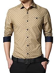 Men's fashion coat Qiu dong long sleeve shirt trend the new shirt render unlined upper garment SY-1351
