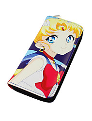 Cartoon Sailor Moon Long Zipper Wallet