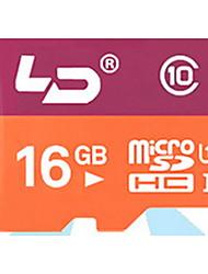 ld 16gb class10 10 m / s tf Fahrzeug reisender Datenrecorder-Speicherkarten mit hoher Geschwindigkeit wirte / lesen