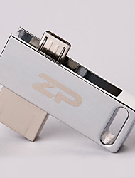 ZP C06 64GB USB 2.0 Resistente à Água / Resistente ao Choque / Rotativo / Suporte de OTG (Micro USB)