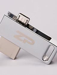 ZP C06 64 Гб USB 2.0 Водостойкий / Ударопрочный / Вращающийся / Поддержка OTG (Micro USB)